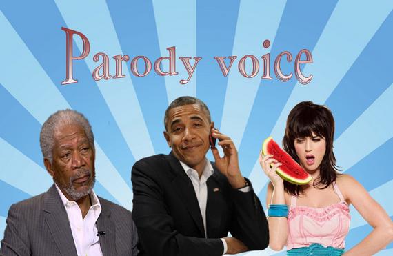 Funny Parody Voices