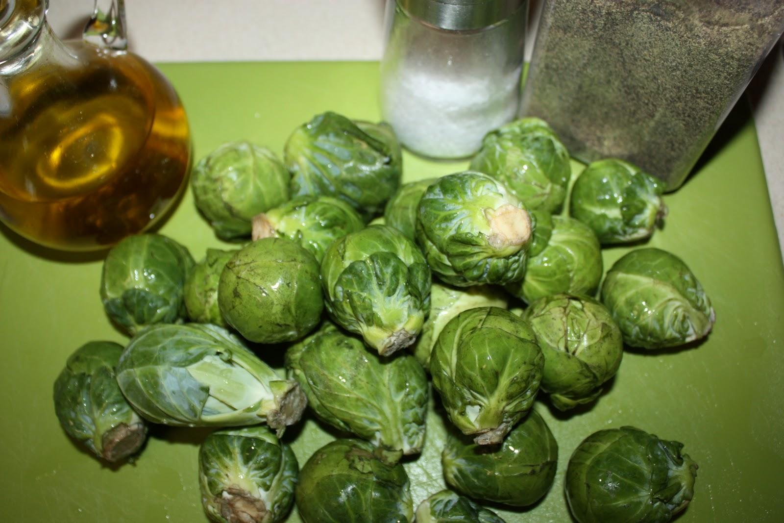 Olive The Ingredients: Golden-Crusted Brussels Sprouts