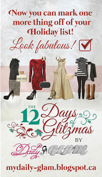 Daily Glam - 12 Days of GLITZMAS!