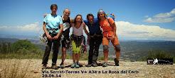 Via Serrat-Torras a la Roca del Corb