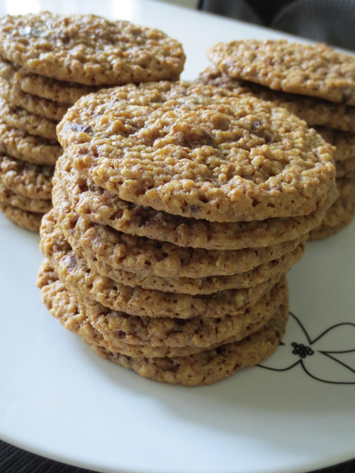 havrecookies med choklad