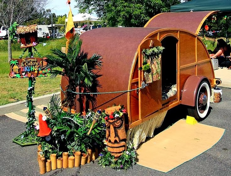 The Original Teardrop Trailers Were Built At Home Rather Than By A Manufacturer So Builder Had Carte Blanche On What They Could Do With Their Own