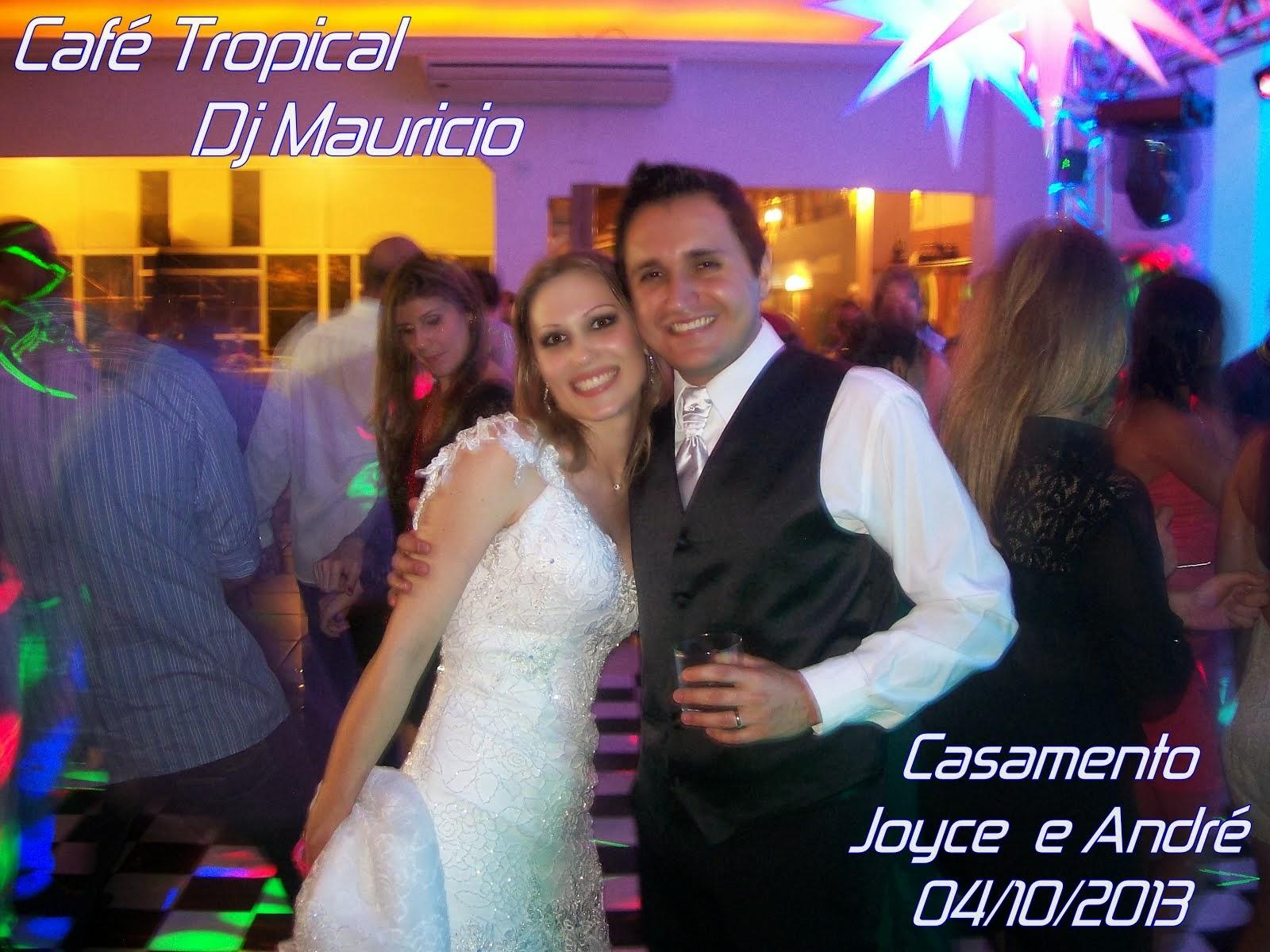 Joyce e André Casamento