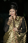 Anchor Shila Chakravarthy latest black saree Photos-thumbnail-13