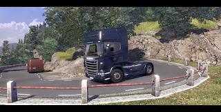 Scania truck driver simulator game Mandatory_brake_02