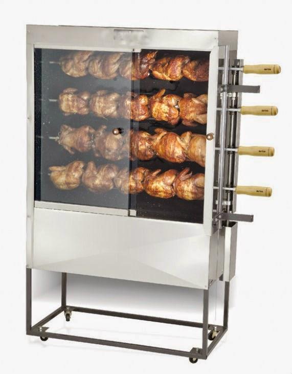 NorCal Ovenworks 20 Chicken Gas Rotisserie Roaster