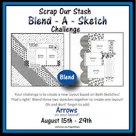 August 2018 Blend-A-Sketch Challenge