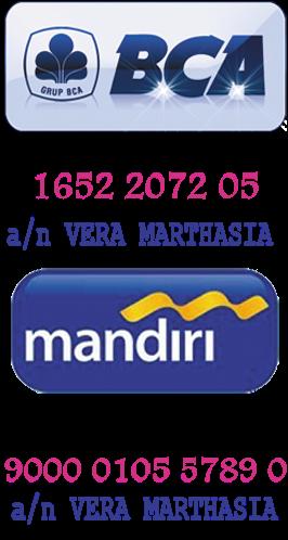TRANSFER VIA BCA/MANDIRI