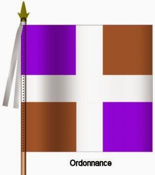 Languedoc Infanterie Ordonnance Flag