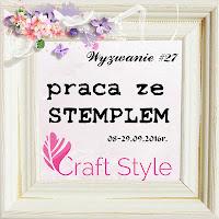 Wyzwanie Craft Style