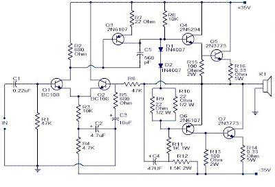 100w subwoofer amplifier circuit circuit diagram rh circuit4diagram blogspot com Operational Amplifier 1000 Watt Amplifier Circuit