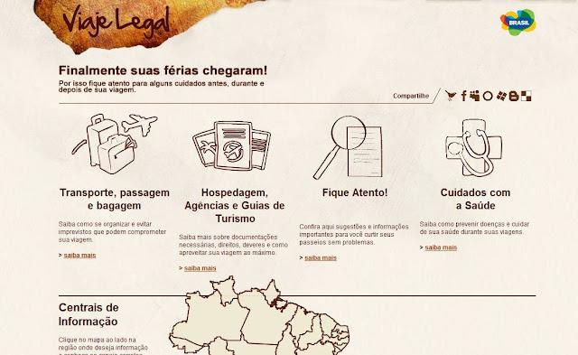 Informações para os viajantes de plantão