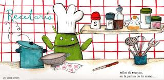 Aprende a cocinar con el Recetario de Android