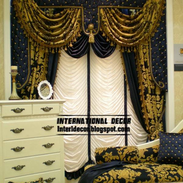 Unique Jacquard Curtain Drapes Blackout Style For Living Room
