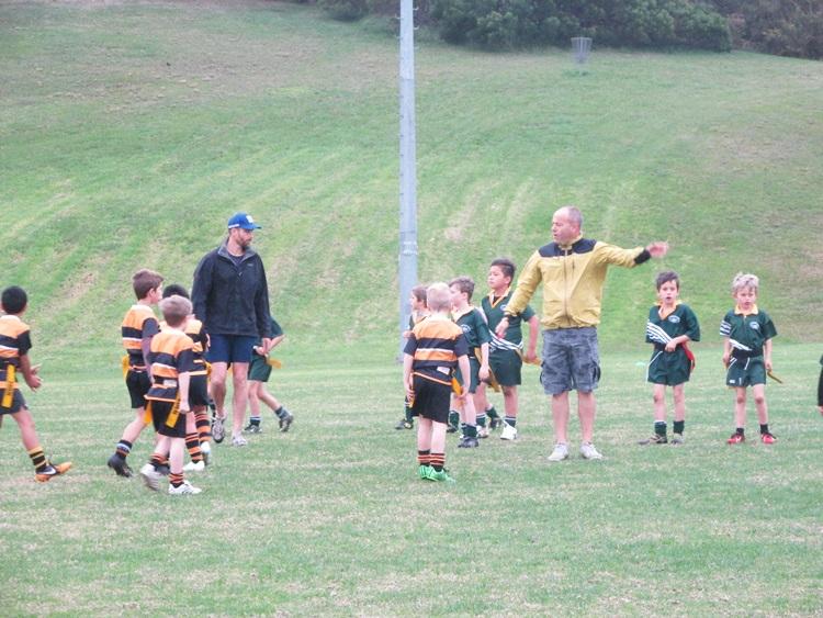 Rippa Rugby match: Eden Gold U7s vs. Waiheke