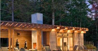 Fotos de terrazas terrazas y jardines terrazas de casas - Casas tipo americano ...