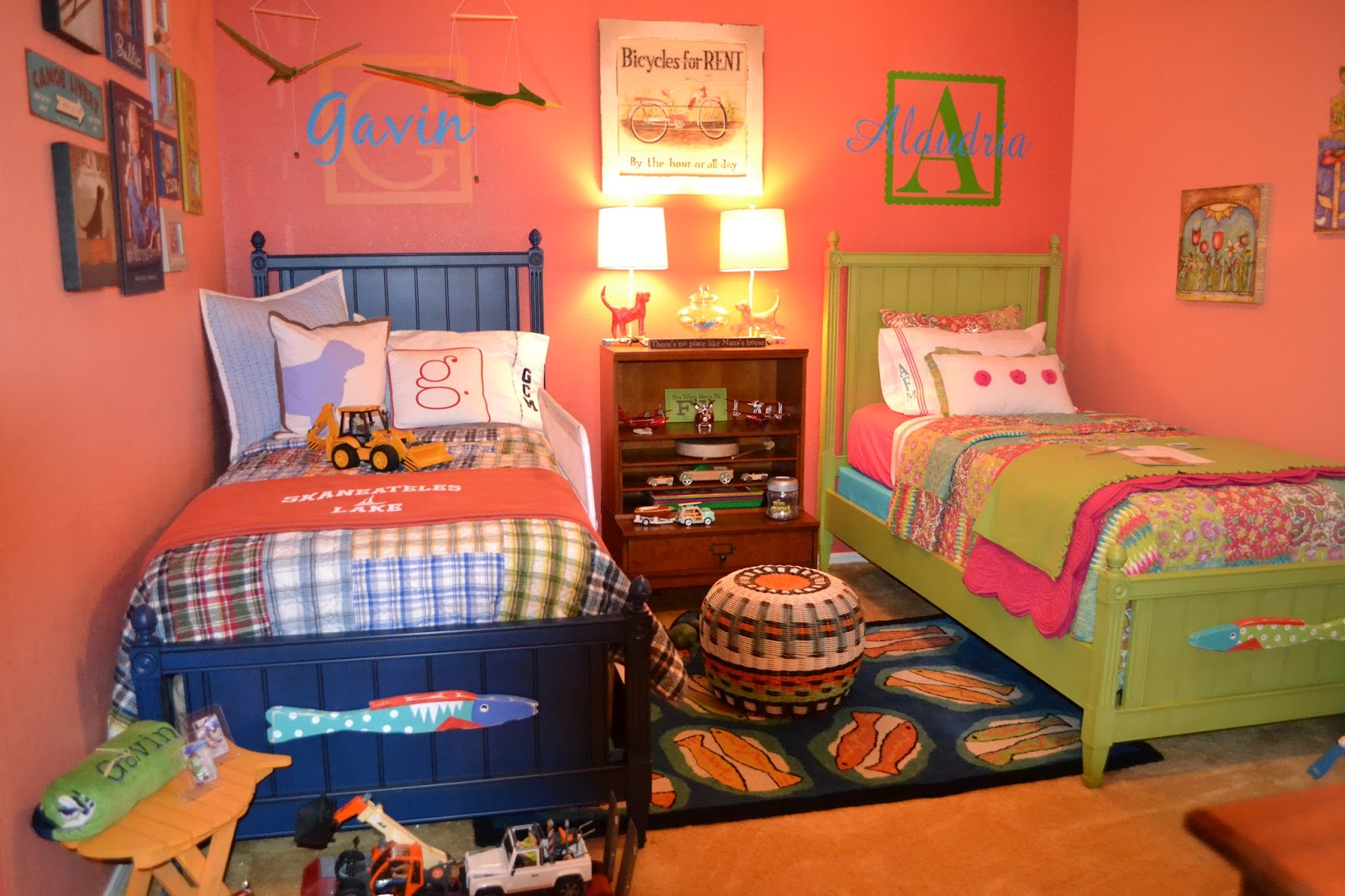 Kids room design for boy and girl - Shared Boy And Girl Bedroom