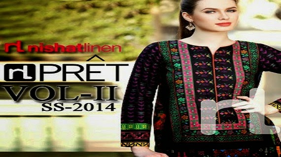 Nishat Linen Summer Collection 2014 Vol-2