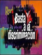 NO MAS DISCRIMINACION