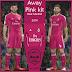 حصري جدا طقم ريال مدريد 2015 باللون الزهري لفيفا 2007 + الطقم المصغر - فقط على ميكانو