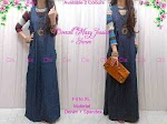 Gamis Jeans + Spandex SOLD OUT