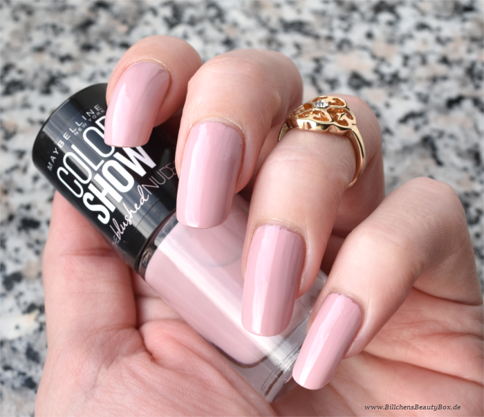 Maybelline The Blushed Nudes Nagellack Dusty Rose