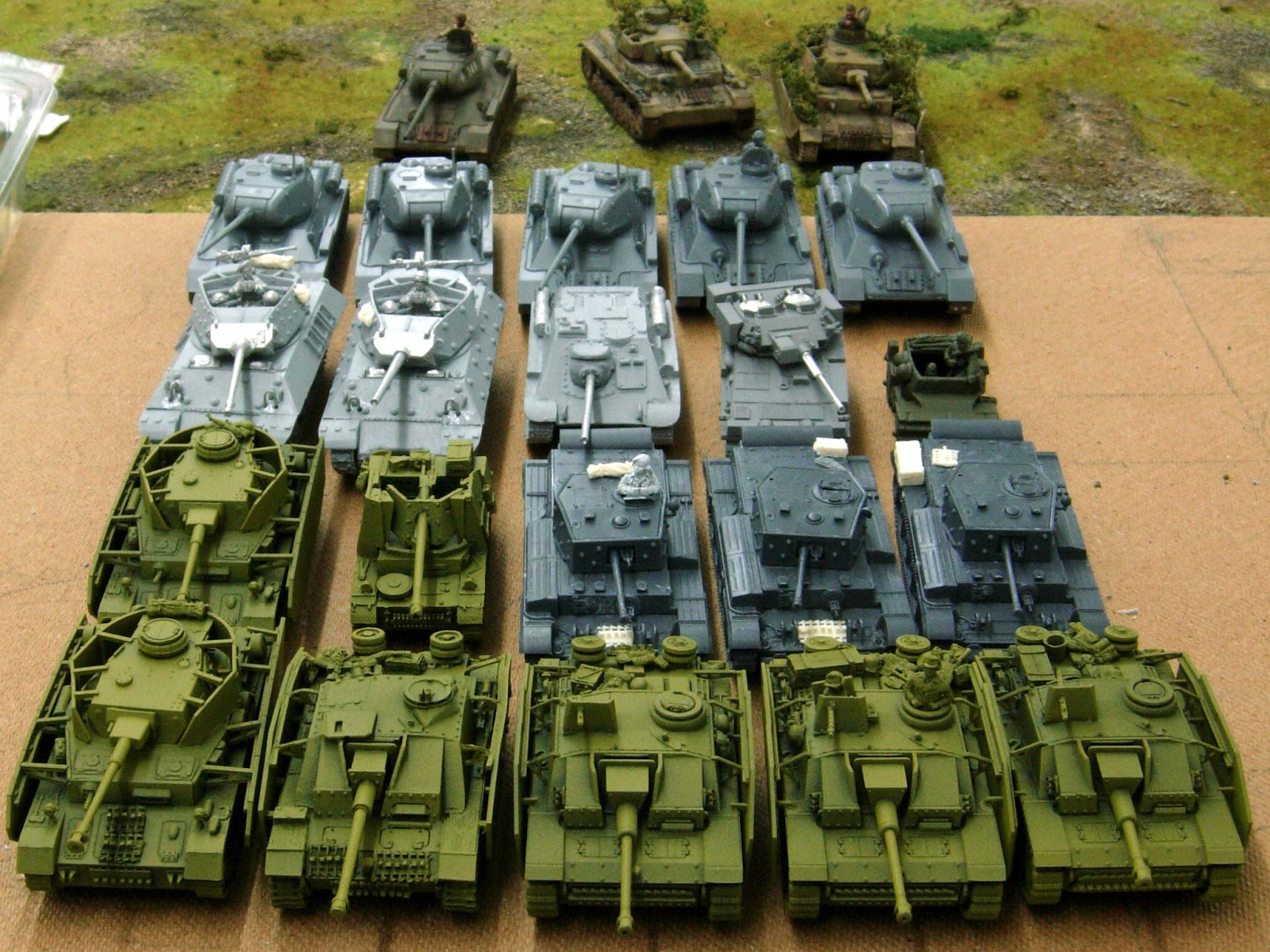 Wargaming with Silver Whistle TANKS A LOT WW2 & Modern Afghanistan
