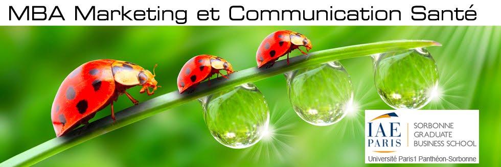 MBA / Master Marketing et Communication Santé | IAE de Paris Sorbonne GBS