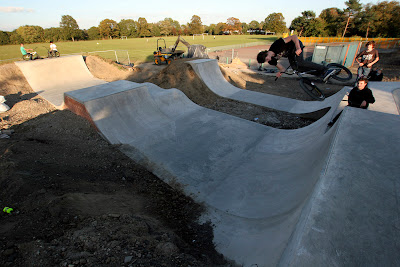 Earley Skatepark, Sol Joel Park