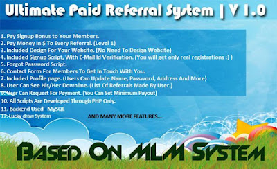 codecanyon referral system script