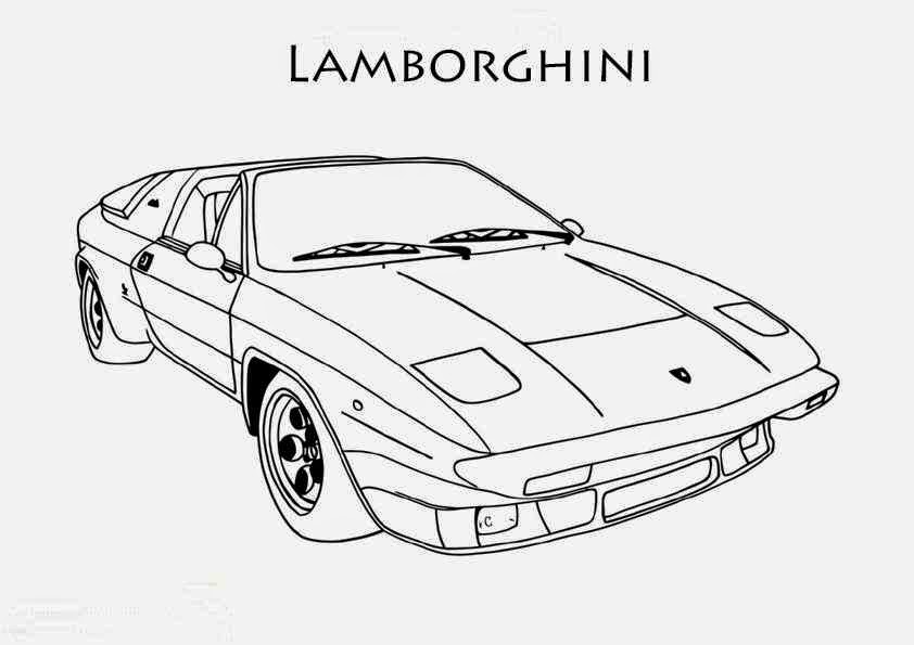 coloriage lamborghini galardo black coloriage voiture. Black Bedroom Furniture Sets. Home Design Ideas
