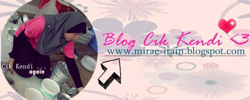 <center>Blog Cik Kendi</center>