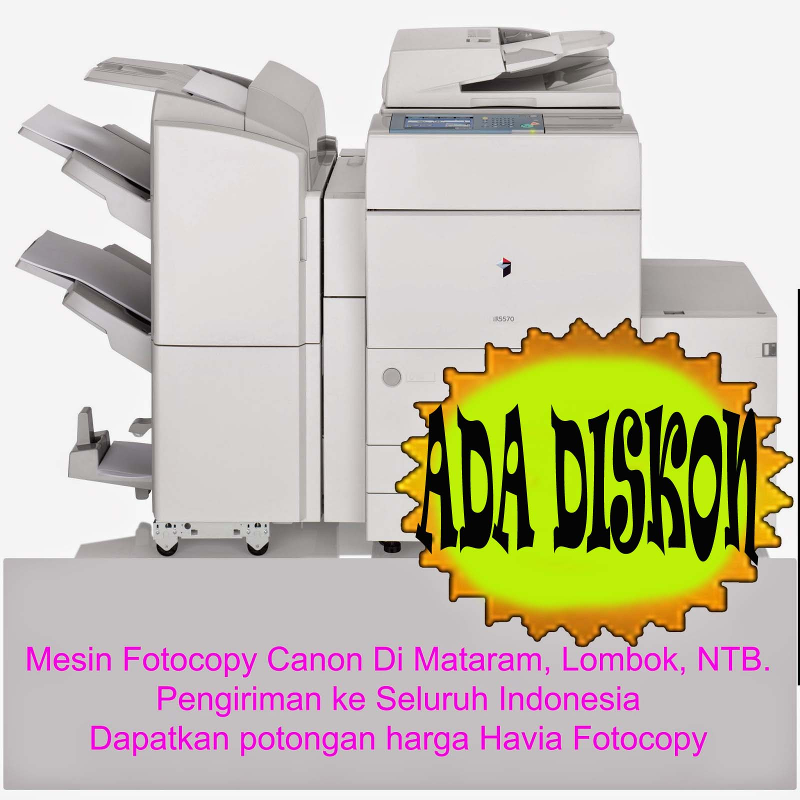 Havia Dealer Mesin Fotocopy Canon Resmi Seluruh Indonesia - Memberikan Diskon Kepada Pembeli