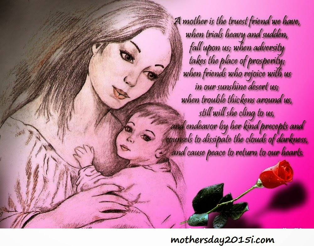 Mother Love Quotes Wallpaper : Happy Mother s Day Quotes With Images For Facebook 2015 Happy Holi 2017, Happy Holi Wallpapers ...