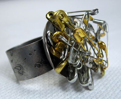 Sculptural Industrial Ring