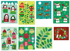 2 Christmas Box Card Sets