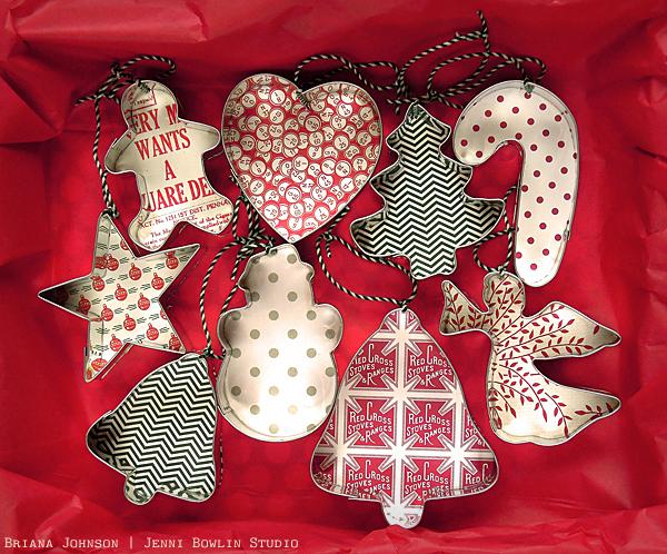 Jbs inspiration christmas cookie cutter ornaments