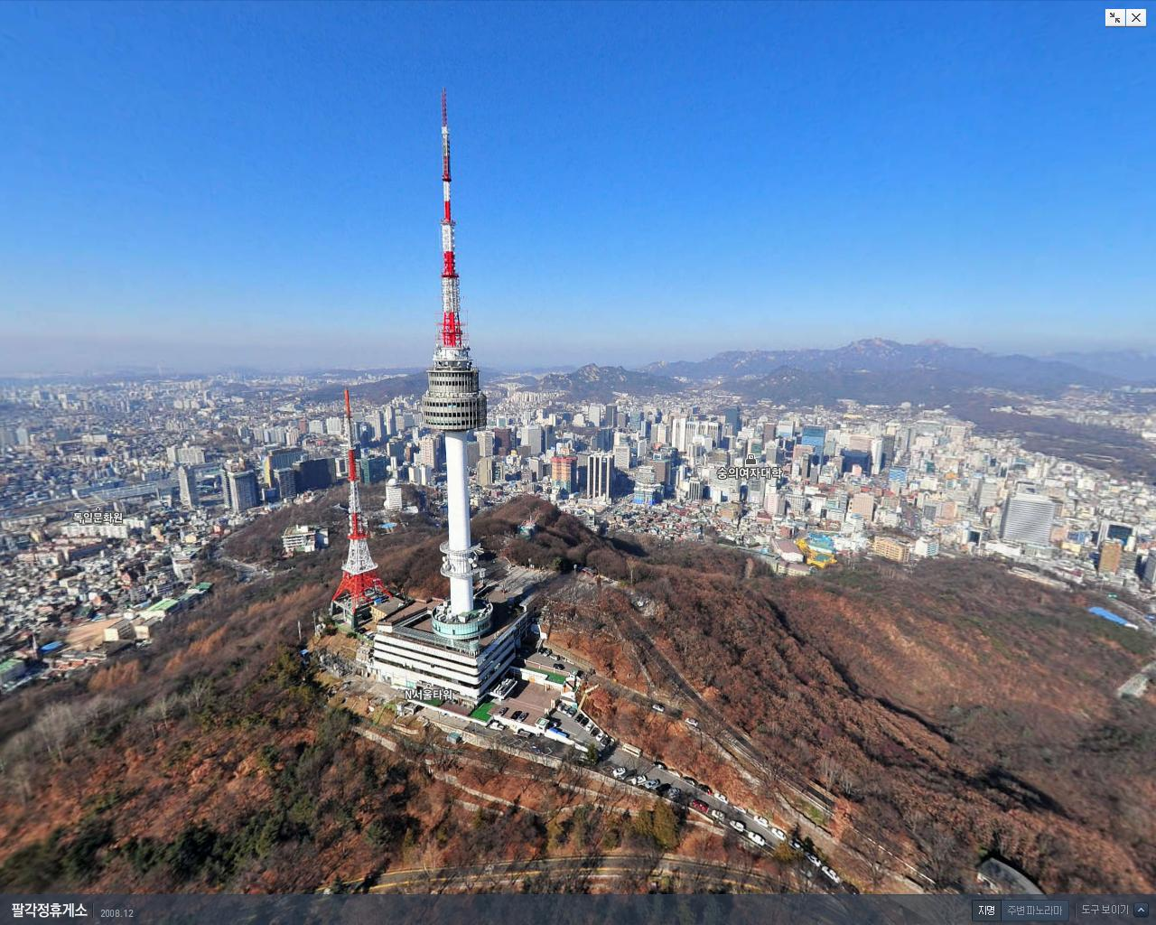namsan park and seoul tower ticket price and review