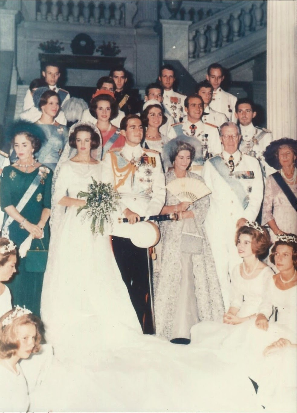 Royal Musings: 50th anniversary of the marriage of King Constantine ...
