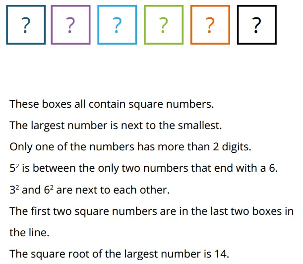 how to teach square numbers