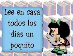 Mafalda recomienda leer
