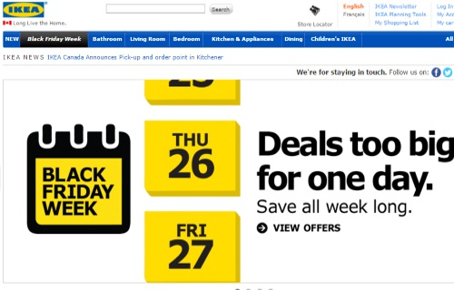 IKEA Black Friday Week Deals Too Big For One Day