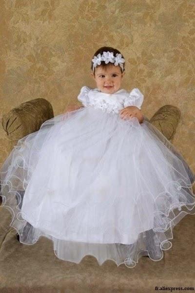 robe blanche longue en coton