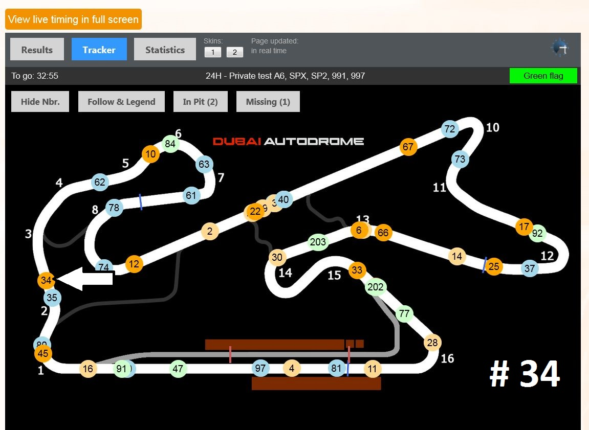 Live Tracking Dubai