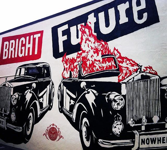 Shepard Fairey New Mural In Denver, USA