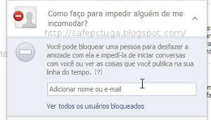 Como bloquear mensagens no Facebook
