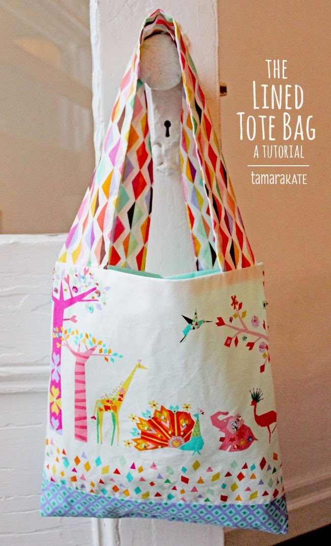 making it fun: MMF Kids Craft Camp Project #3 :: The Lined Tote by ...