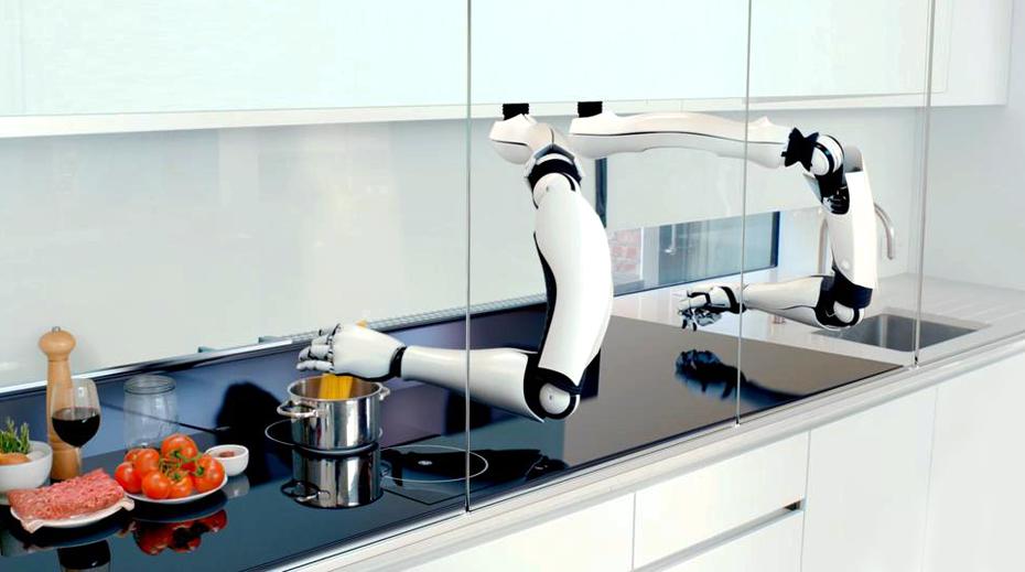 Futurix: Il robot chef in cucina di Moley Robotics