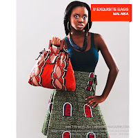 Malaika African Fabric bag - BHF Shopping mall - iloveankara.blogspot.co.uk