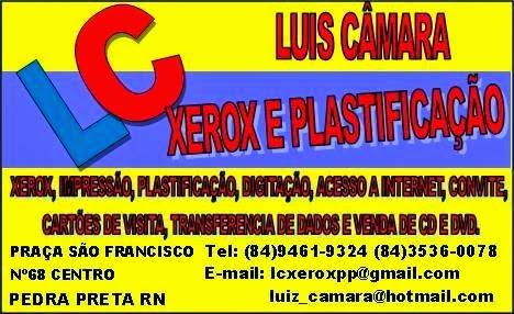 LC Xerox e Plastificação